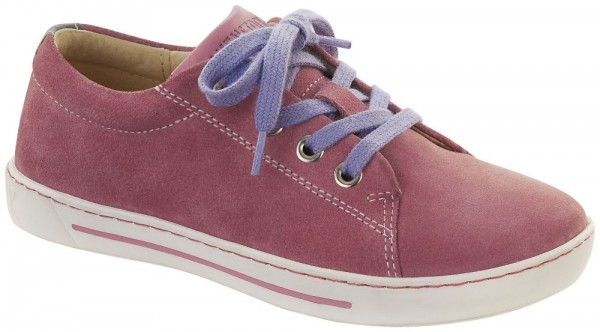Arran Kids Berry suede leather