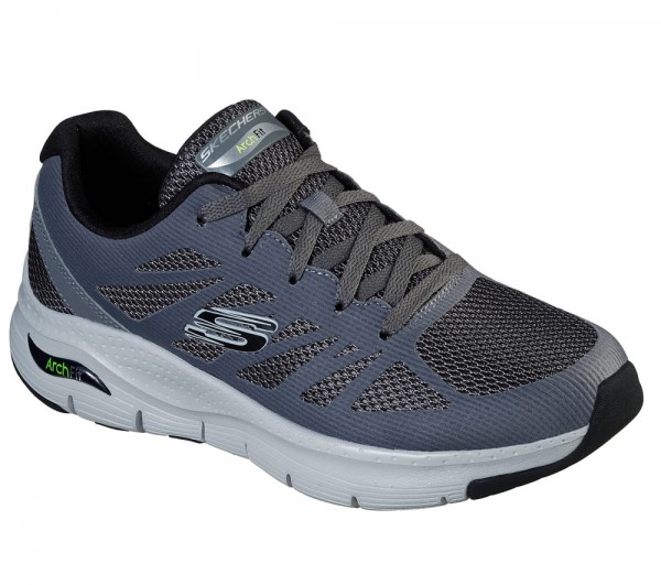 Arch Fit - Charge Back - Grey / Black Nylon