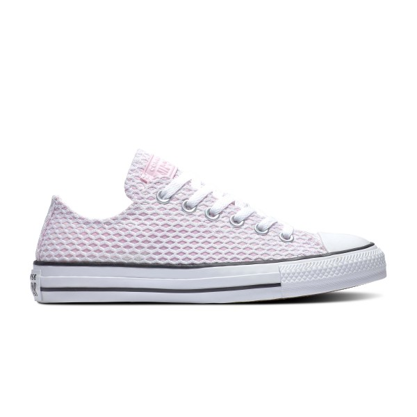 Chuck Taylor All Star - Ox - White / Pink Foam / White Canvas