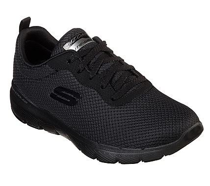 Flex Appeal 3.0 - First Insight Black / Black Textile
