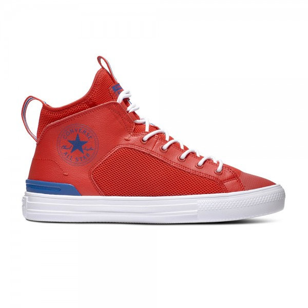 Chuck Taylor All Star Ultra - Mid - University Red / Rush Blue / White Leather/Synthetic