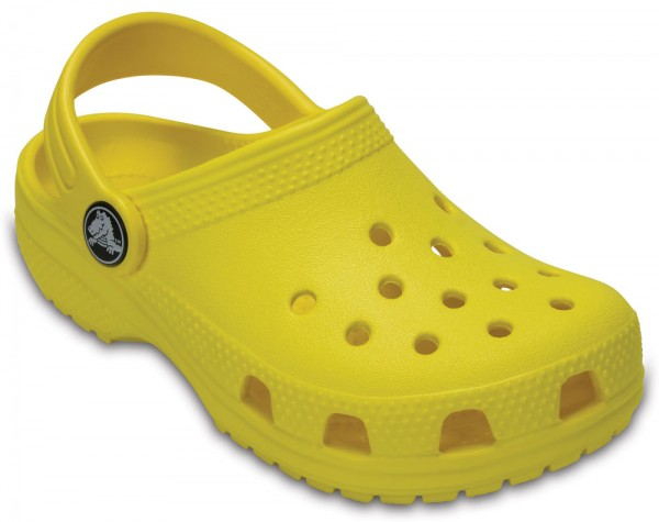Classic Clog Kids Lemon Croslite