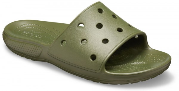 Classic Slide Army Green Croslite