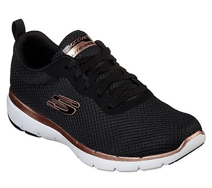 Flex Appeal 3.0 - First Insight Black / Rose Gold Textile