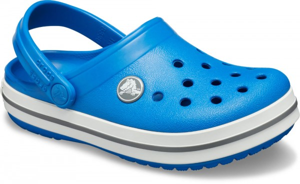 Crocband Clog Kids Bright Cobalt / Charcoal Croslite