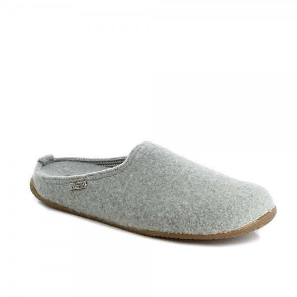 Pantoffel With Fußbett Lily Pad Wool