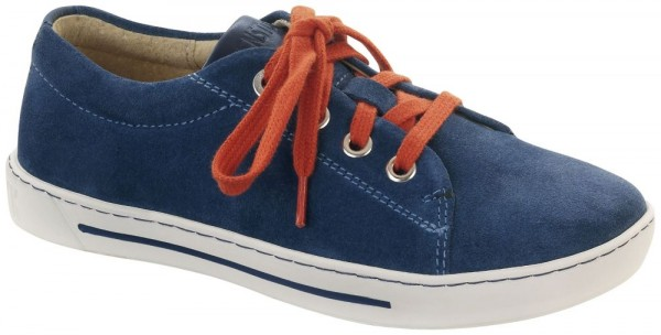 Arran Kids Blue suede leather