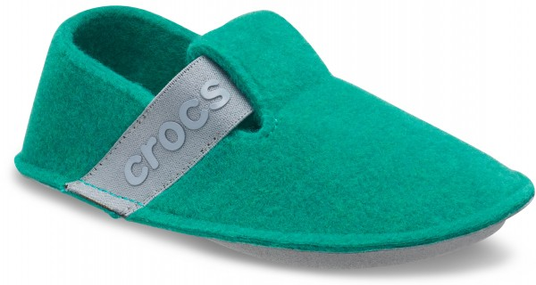 Classic Slipper Kids Deep Green Croslite