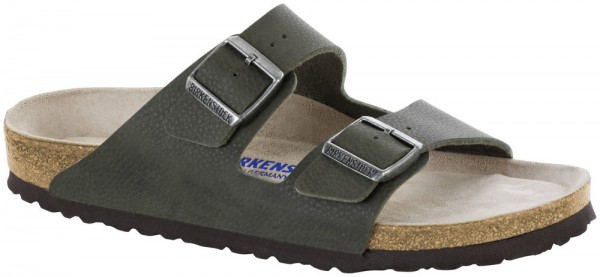Arizona Desert Soil Green Soft Footbed Birko-Flor