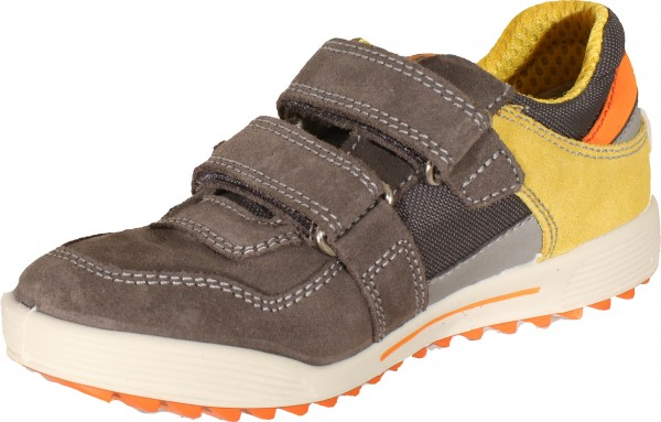 73880 - Grey suede leather