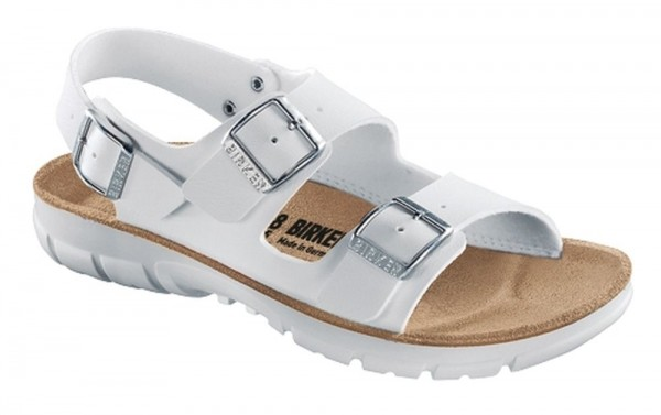 Kano White Soft Footbed Birko-Flor