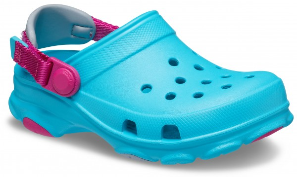 Classic All-Terrain Clog Kids Digital Aqua Croslite