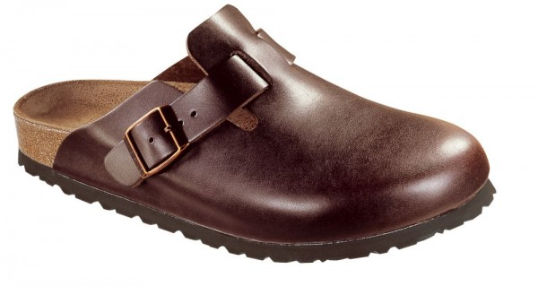 Boston Brown Soft Footbed smooth leather