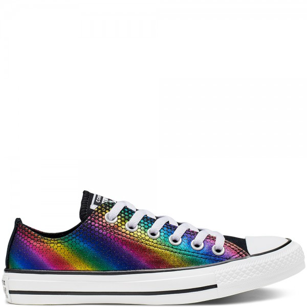 Chuck Taylor All Star Kaleidoscope Ox Black / Multi / White Canvas