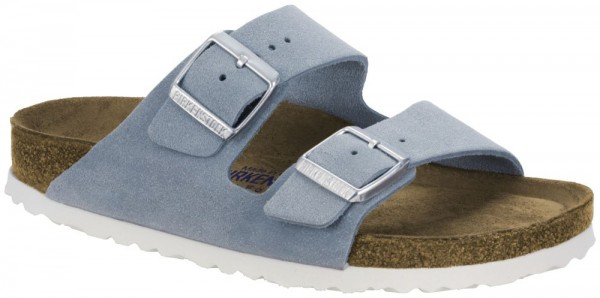 4140a2eee1ee Arizona Light blue Soft Footbed suede leather