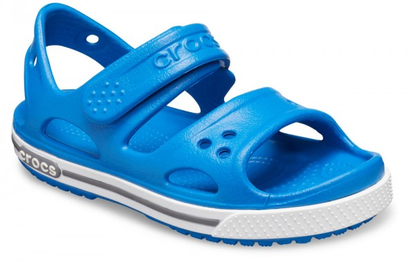 Crocband II Sandal Kids Bright Cobalt/Charcoal Croslite