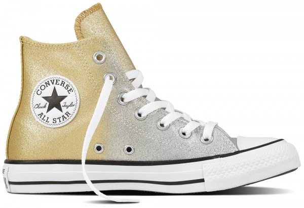 Chuck Taylor All Star Hi Light Gold / Aged Gold / White Synthetics