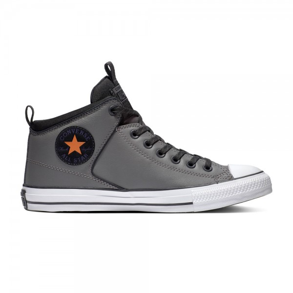 Chuck Taylor All Star High Street - Carbon Grey / Black Campfire Synthetics