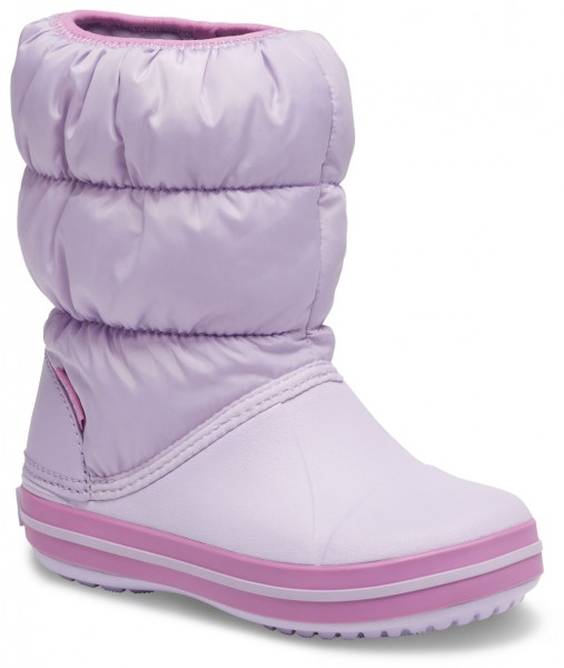 Winter Puff Boot Kids Lavender Croslite/Textil