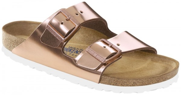 c8065e047d09 Arizona Metallic Copper Soft Footbed smooth leather