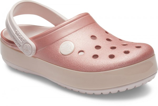Crocband Ice Pop Clog Kids Barely Pink Croslite