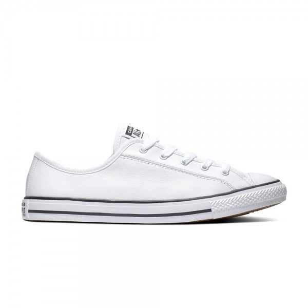 Chuck Taylor All Star Dainty - Ox - White / Black / White Leather