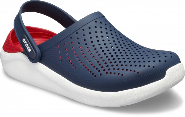 Literide Clog Navy / Pepper Croslite