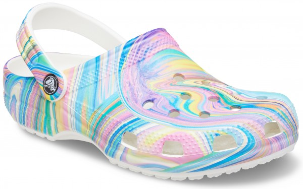 Classic Out Of This World Ii Clog White / Multi Croslite