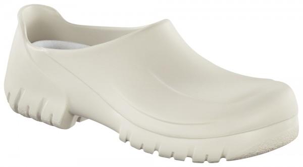A 640 White With Steel Toe Cap PU (Polyurethan)