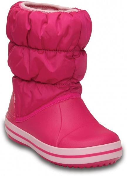 Winter Puff Boot Kids Candy Pink Croslite/Textil