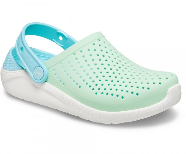 Literide Clog Kids Neo Mint / White Croslite
