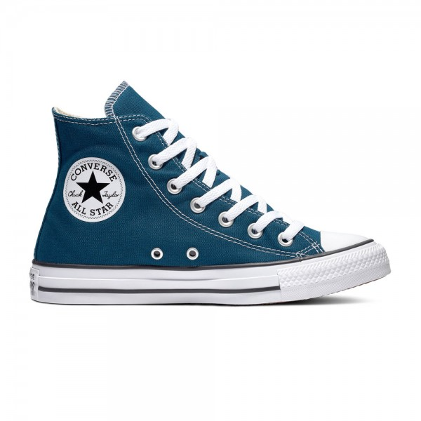 Chuck Taylor All Star Seasonal Hi Midnight Turq Canvas