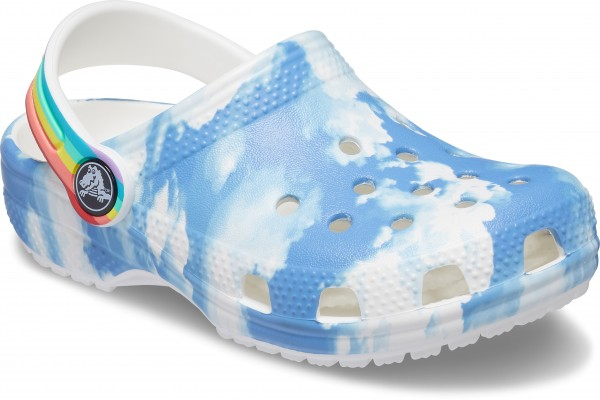 Classic Out of This World II Clog Kids White Croslite