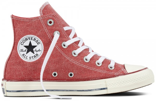 Chuck Taylor All Star Hi Enemal Red / Enemal Red / White Cotton\r\n