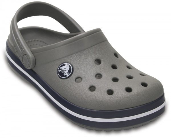 Crocband Clog Kids Smoke / Navy Croslite