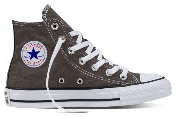 Chuck Taylor All Star Hi Charcoal Canvas