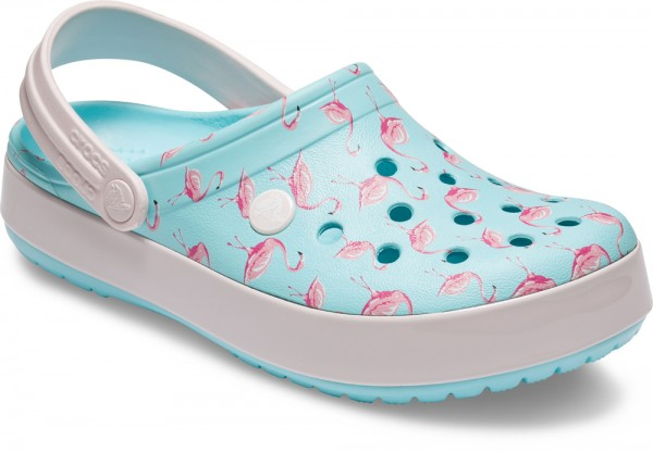 1d834e79783c50 Crocband Seasonal Graphic Clog Ice Blue / Pink Croslite | Crocband Graphic  Clog | Clogs | Women's Shoes | Gress Schuh GmbH
