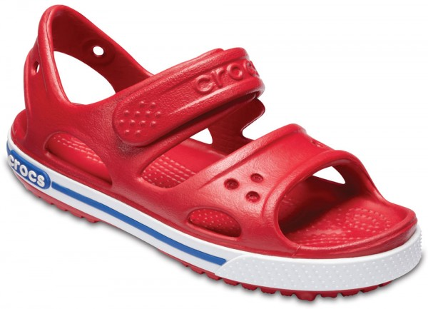Crocband II Sandal Kids Pepper / Blue Jean Croslite