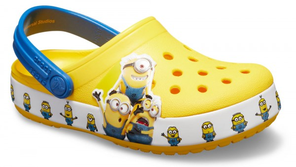 FunLab Minions Multi Clog Kids Yellow Croslite