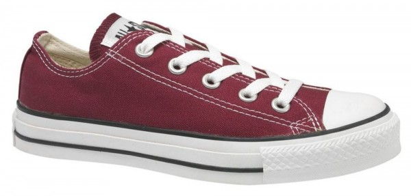 Chuck Taylor All Star Ox Maroon Canvas  af73bfd068