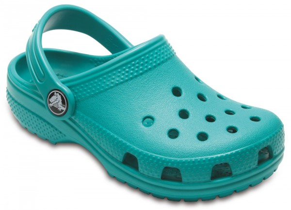 Classic Clog Kids Tropical Teal Croslite