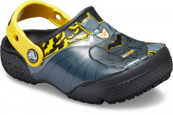 Funlab Iconic Batman Clog Kids Black Croslite