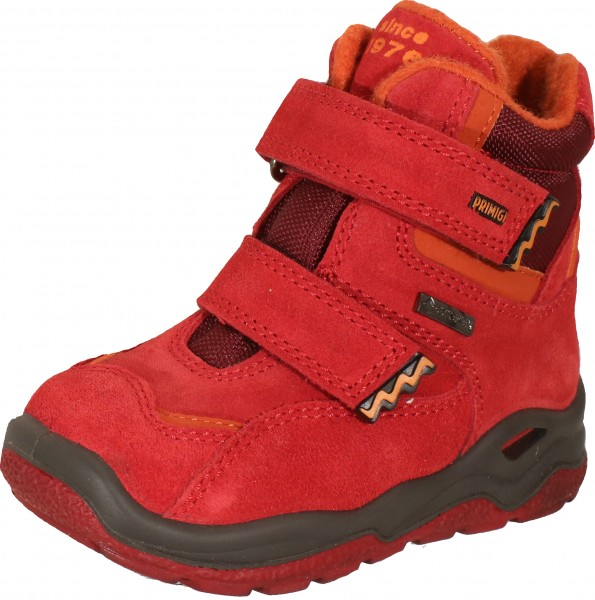 Pgygt 83660 - Red / Brown suede leather