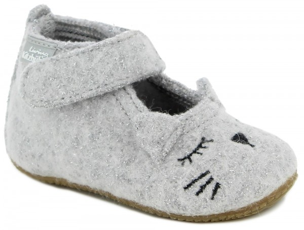 Babyballerina Glitzerkatze Light Grey Walk