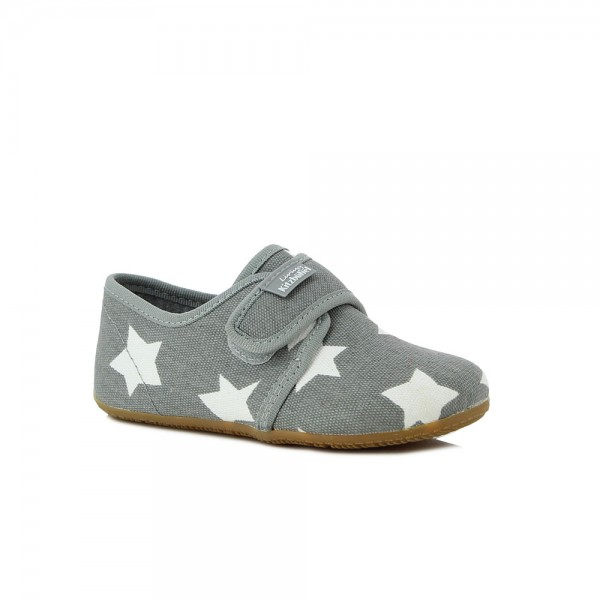 Klettmodell Sterne Light grey Cotton\r\n