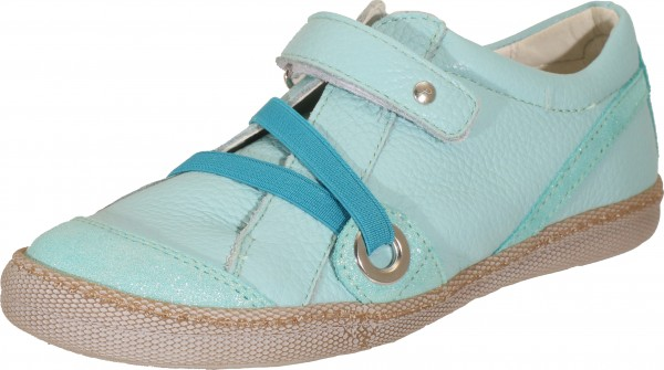 74179 - Blue smooth leather