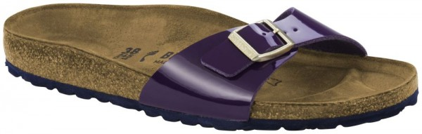Madrid Purple Patent Birko-Flor patent