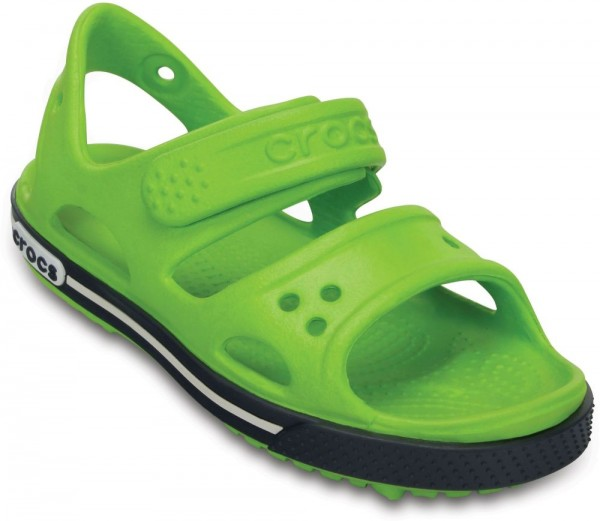 Crocband Ii Sandal Kids Volt Green / Navy Croslite