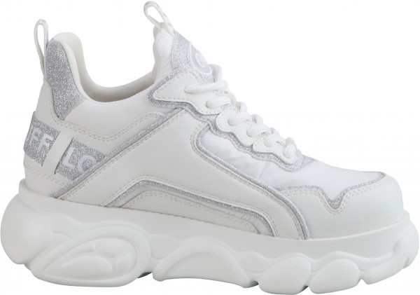 Flat Cpx - Sneaker Low - Imi Nappa/Textile - White Leather