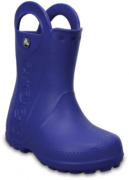 Handle It Rain Boot Kids Cerulean Blue Croslite
